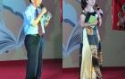 Giáo sư Nguyễn Lân Dũng hào hứng khi bạn trẻ yêu thích sách