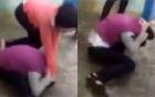 Lại xuất hiện clip nữ sinh bị đánh hội đồng đến ngất xỉu  3
