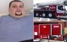 Huy động cần trục, xe tải đưa người đàn ông nặng gần nửa tấn tới bệnh viện