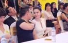 Trương Quỳnh Anh mặc váy cô dâu hạnh phúc bên Tim 3