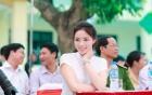 Nguyễn Cao Kỳ Duyên giản dị, xinh đẹp bên Xuân Bắc, Tự Long