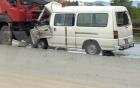 Xe cấp cứu tông xe đầu kéo, 3 người tử vong