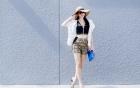 Mê mẩn với phong cách thời trang xuống phố của Thủy Tiên