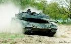Quan sát xe tăng hiện đại nhất thế giới Leopard 2A6 chiến đấu