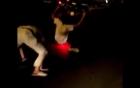 Video: Thanh niên ngã lộn nhào vì bốc đầu xe