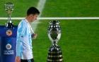 Mất chức vô địch, Messi từ chối nhận Quả bóng vàng Copa America 2015