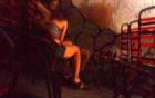 Nữ tiếp viên kích dục cho khách ngay tại quán cà phê