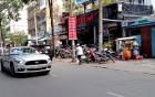 Thiếu gia phóng siêu xe Ford Mustang trên phố Sài Gòn