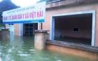 Xã đảo ở Hải Phòng thành biển hồ, 30 nhà dân ngập trong nước