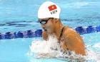 Ánh Viên thi đấu nội dung 200m tự do tại giải bơi thế giới