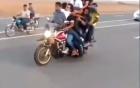 """""""Không có chuyện 200 môtô của các nhóm thanh niên tổ chức đua trái phép"""" 2"""