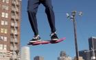 Ván trượt trên không - trò chơi mạo hiểm gây sốt giới trẻ