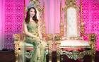 Hoa hậu Jennifer Chung khoe vẻ đẹp lộng lẫy với váy dạ hội