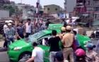 Hà Nội: Truy đuổi tài xế hất cảnh sát lên nắp ca pô