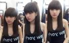 Facebook sao Việt: Ngọc Trinh khác lạ với kiểu tóc mới