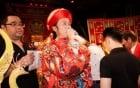 Hoài Linh, Đàm Vĩnh Hưng thành kính cúng Tổ nghề