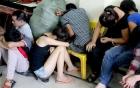 """Lâm Đồng: Mở tiệc """"đập đá"""" trong phòng trọ, 6 con nghiện bị bắt"""