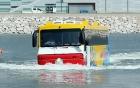 Xe khách 45 chỗ chạy dưới nước như tàu thủy