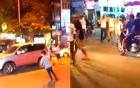 Hỗn chiến kinh hoàng trên phố Bạch Mai, nam nhân viên nhập viện