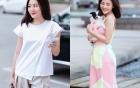 Văn Mai Hương ghi điểm với gu thời trang ấn tượng