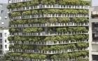 """Tòa nhà 10 tầng được """"phủ xanh"""" bởi 380 chậu trúc"""
