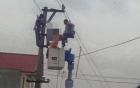 Hải Phòng: Thi thể người đàn ông treo lơ lửng trên dây điện