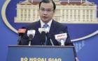 Bộ Ngoại giao lên tiếng vụ tàu chiến Trung Quốc chĩa súng đe dọa tàu VN