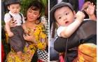 Cận mặt con trai vợ chồng Diễm Hương trong lễ cưới