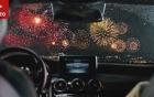 Mercedes mừng năm mới với đoạn quảng cáo pháo hoa đẹp mắt