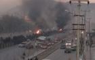 Đại sứ quán Nga tại Ukraine bị khủng bố trước đêm bầu cử Hạ viện 2