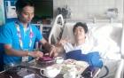Công Phượng về Việt Nam chữa trị chấn thương 3