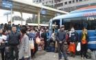 Hà Nội: Người người tấp nập đổ ra các bến xe về quê ăn Tết
