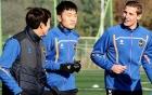 Vừa đến Incheon Utd, Xuân Trường lấp tức lao vào tập luyện