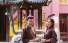 Hương Tràm, Quang Hà cùng nhau đi chùa lễ phật đầu năm mới
