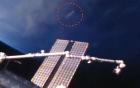 Video: Vật thể sáng bí ẩn trôi nổi trên bầu trời Mỹ 1
