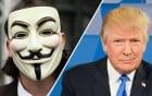 Anonymous tuyên bố tấn công website tranh cử của Donald Trump vào 1/4