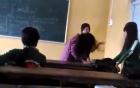 Nữ sinh bị bạn đánh ghen giữa lớp