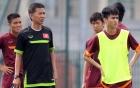 HLV Hoàng Anh Tuấn chuẩn bị cho U19 Việt Nam dự giải châu lục