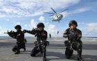 Trung Quốc đưa tàu khu trục tập trận chung với ASEAN ở Biển Đông