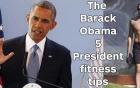 Sức khỏe tuyệt vời và bí quyết giữ sức khỏe của Tổng thống Obama