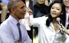 Màn đọc rap trước ông Obama gây sốt báo chí quốc tế