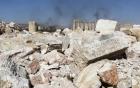 Hố chôn tập thể 150 người tại thành cổ Palmyra