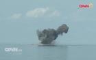Su-30MK2, Su-22, Mi-8 của Việt Nam ném bom diệt mục tiêu trên biển