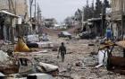 750 xe IS tháo chạy khỏi Fallujah trúng không kích nổ tung 3