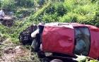 Xe BMW chở 7 người lao xuống vực, 2 người chết thảm