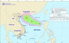 Xuất hiện áp thấp nhiệt đới giật cấp 8 trên Biển Đông