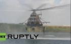 Dàn khí tài quân sự Nga phô diễn sức mạnh trong cuộc tập trận hoành tráng