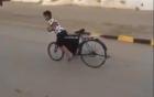Màn drift xe đạp 007 siêu hạng