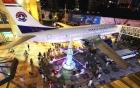 Chi hơn 5 triệu USD biến phi cơ cũ thành nhà hàng máy bay đầu tiên Trung Quốc