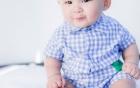 Lộ ảnh con trai 1 tuổi của bé Xuân Mai?